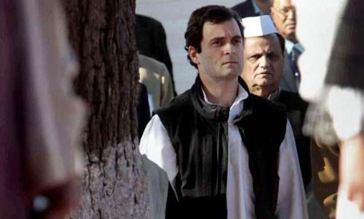 i am a follower of mahatma gandhi and his ideals rahul