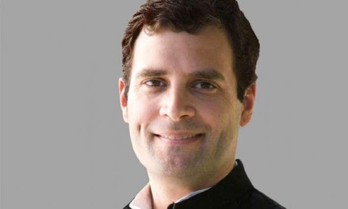 rahul gandhi should become next pm shinde