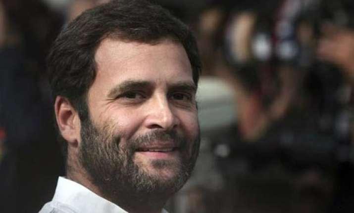 rahul gandhi to visit maharashtra today