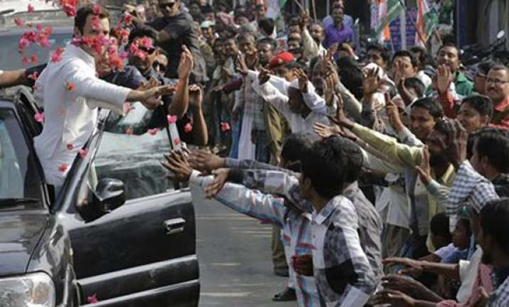rahul gandhi to hold road show in uttar pradesh