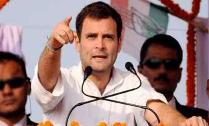 live rahul gandhi to hold poll rallies in rajasthan uttar