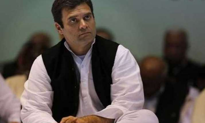 rahul gandhi to meet family of gangrape victims tomorrow