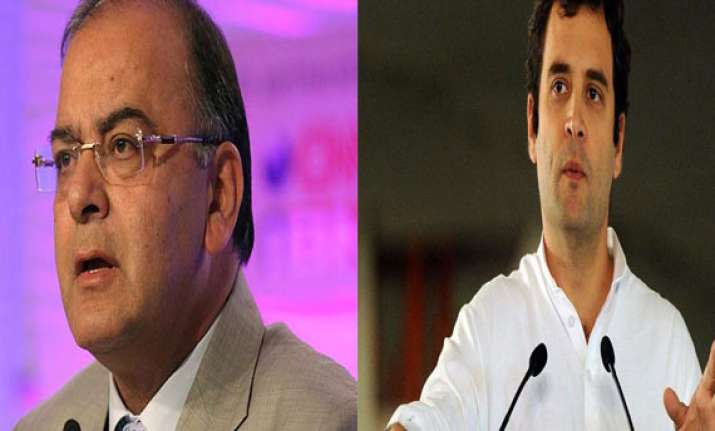 rahul cut off from reality congress a sinking ship jaitley