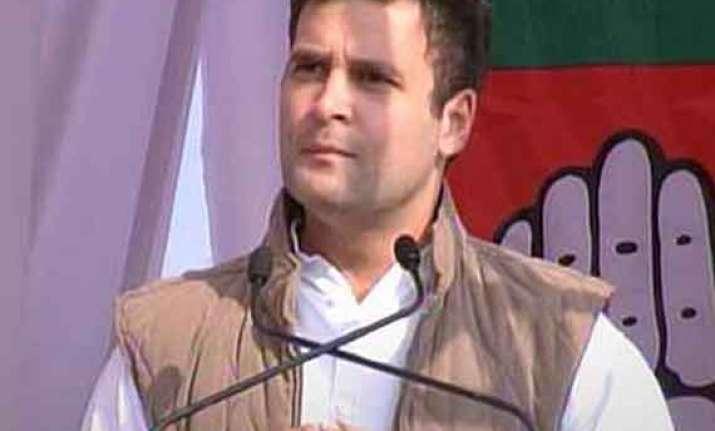 rahul promises to pace up rehabilitation work in uttarakhand