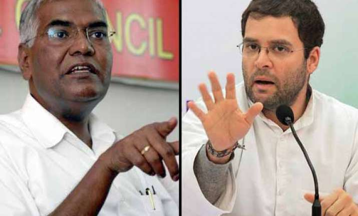 rahul s balloon will burst too says cpi s d raja