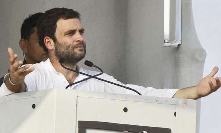 rahul s poll win dream like filling balloon with holes sena