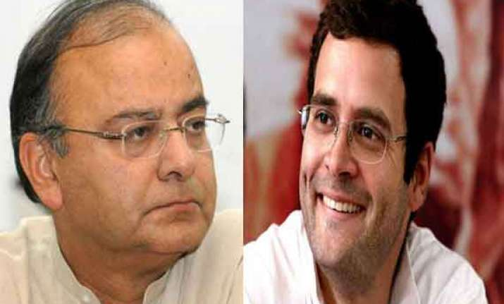 rahul s relationship with amethi is nominal jaitley