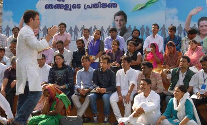 rahul seeks partnerships to build new india
