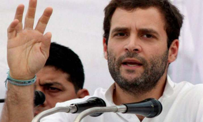 rahul gandhi as pm candidate demand at cong chintan shivir
