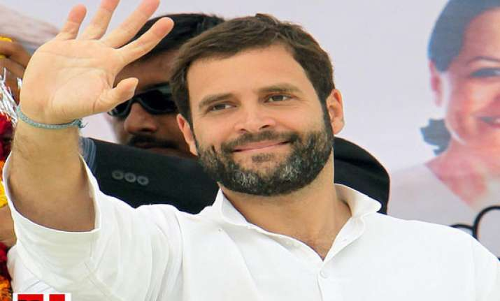 rahul gandhi to visit amethi rai bareli tomorrow