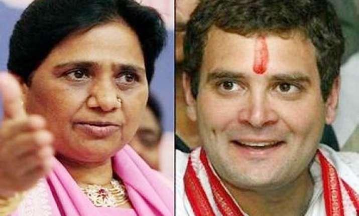 rahul s remark is irresponsible says mayawati