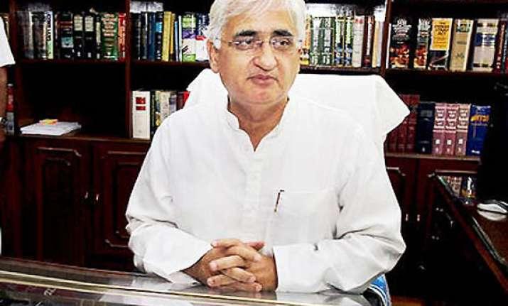 rahul s up remark an emotional one khurshid