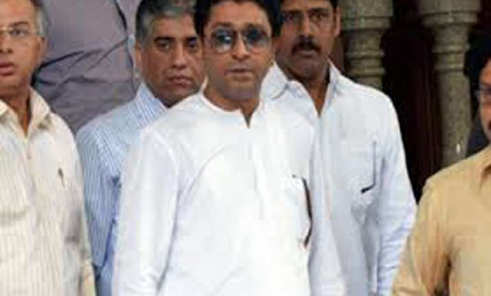 raj thackeray projects himself as cm candidate in
