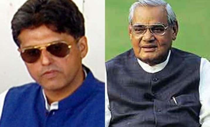 raja s statement also indicts vajpayee congress
