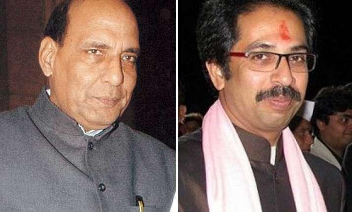 rajnath singh meets uddhav thackeray