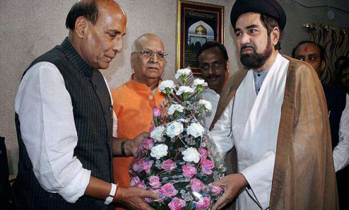 rajnath singh meets top muslim clerics in lucknow