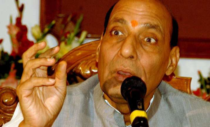 rajnath asks party workers to donate for uttarakhand relief