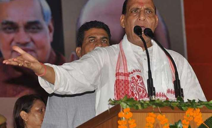 rajnath rubbishes aap charge on horse trading