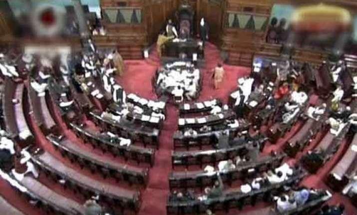 rajya sabha disrupted again over telangana adjourned for day