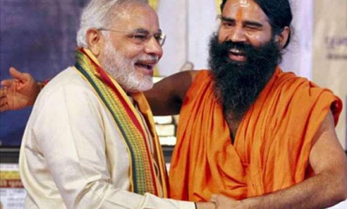 ramdev bats for modi as prime minister