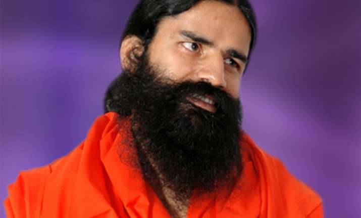 ramdev campaigns for riot accused bjp candidates