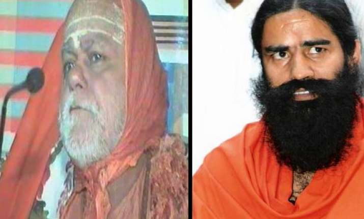 ramdev campaign based on lies swami swarupanand