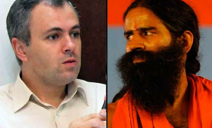 ramdev should have been turned away from airport says omar