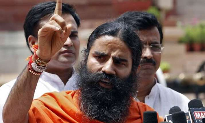 ramdev threatens campaign on lokpal black money issues