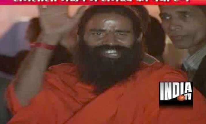 ramdev launches second round of protest