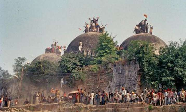 why ayodhya issue is sensitive watch rare pics of babri