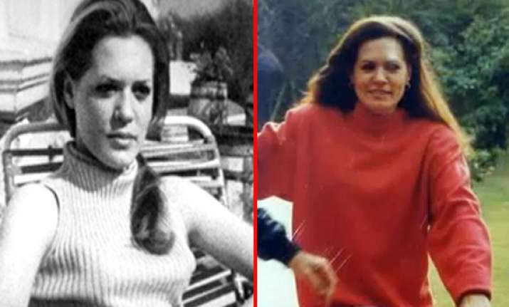 rare photos of congress chief sonia gandhi