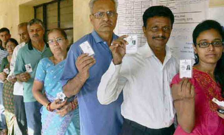 re polling in 12 booths in karnataka tuesday