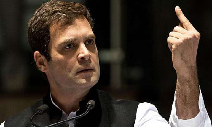 read rahul gandhi s comments about polls tv interview