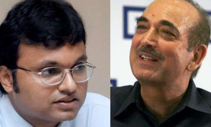 read fourth list of congress candidates azad from udhampur