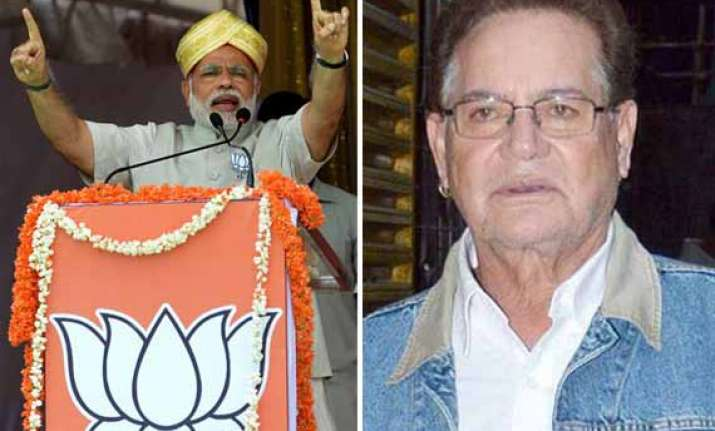 read what salman khan s father salim khan said about modi