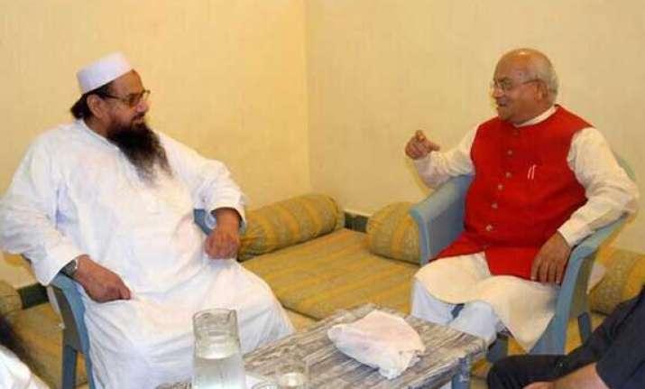 row over journalist meeting saeed congress seeks to corner