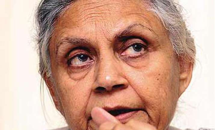 sc declines early hearing of sheila dikshit s ad campaign
