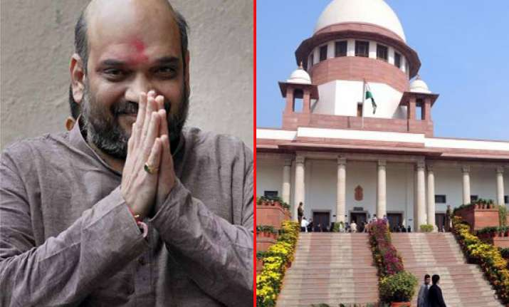 sc modifies bail condition of modi s confidante amit shah