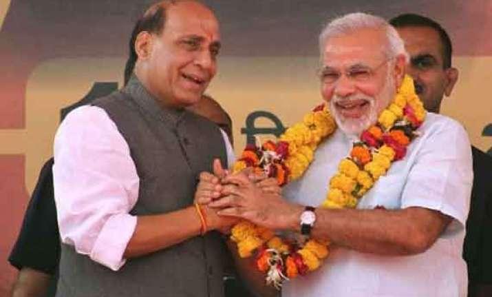 sp bsp fight in up but back corrupt upa govt together bjp