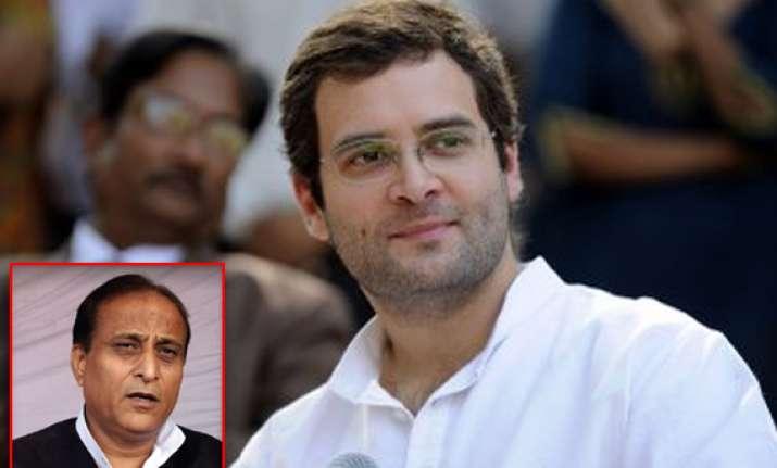 sp leader azam khan wants rahul gandhi as pm