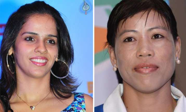 saina nehwal mary kom to be election commission s national