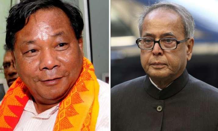 sangma wants debate with pranab ahead of prez poll