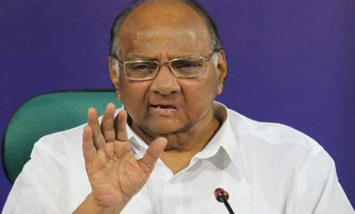 seat sharing issue to be resolved in 10 days pawar