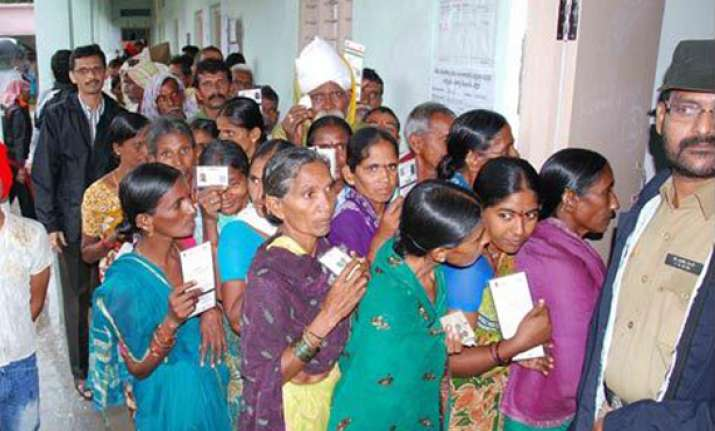 second phase of andhra panchayat polls in progress