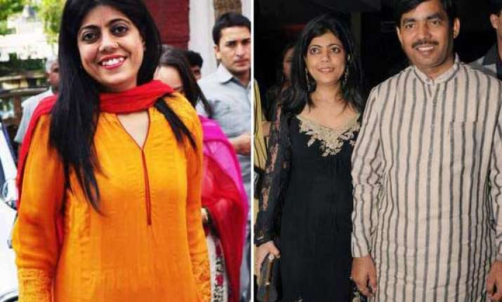shahnawaz hussain and reena just made for each other