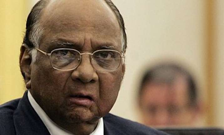 sharad pawar says cong has not discussed any name with him