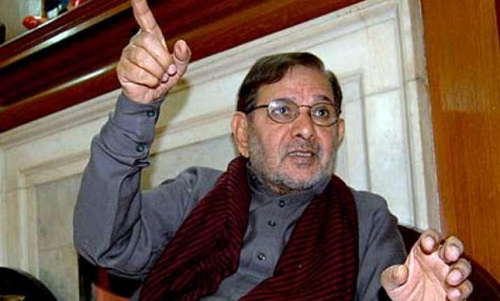 sharad yadav to propose pranab s candidature