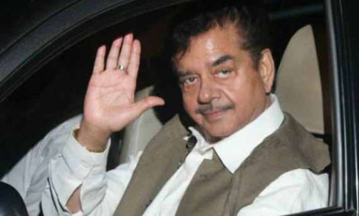 shatrughan sinha pitches for advani joshi as ministers