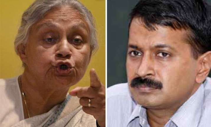 sheila mocks kejriwal says people using air conditioners