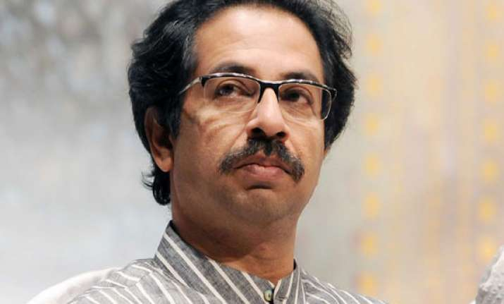 shiv sena takes dig at bjp says uddhav will be cm candidate